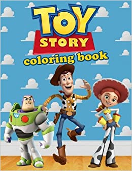 Toy Story Coloring Book Disney Pixar Activity Book For Kids 40