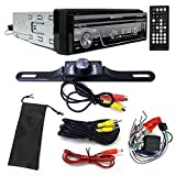 Soundstream VIR-7830B Single-DIN Bluetooth Car Stereo DVD Player w/ 7' LCD Touchscreen and Rear View Camera