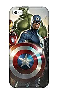 Defender Case For Iphone 5c, The Avengers 22 Pattern
