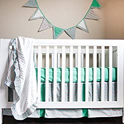 Pam Grace Simply Striking 4 Piece Crib Set
