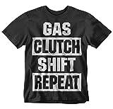 Gas Clutch Shift Repeat Tshirt (X-Large)