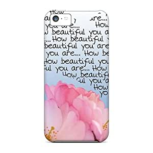 For Iphone 5c Tpu Phone Case Cover(how Beautiful In Pink)