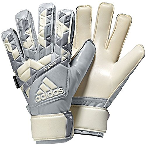 adidas Performance Ace Finger Save Junior Goalie Gloves, Size 4, White Camo Print