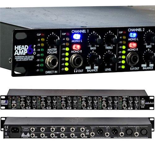 Art HeadAmp6 Rackmount 6-Channel Stereo Headphone Amplifier