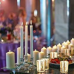 Granrosi Gold Mercury Votive Candle Holder Set of