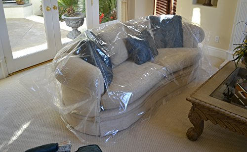 Fantastic Buy Move N Store Plastic Sofa Couch Moving Cover 1 Bag Beutiful Home Inspiration Semekurdistantinfo