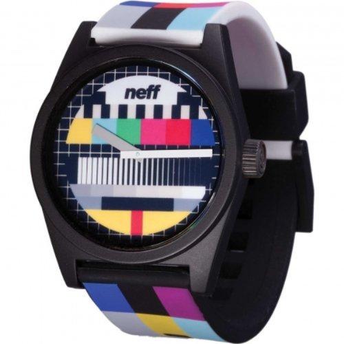 Neff Unisex nf0208scrn diario Wild pantalla analógica Multi-color de cuarzo japonés reloj por Neff: Amazon.es: Relojes