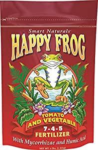 Happy Frog Tomato & Vegetable 7-4-5, 4 Pounds