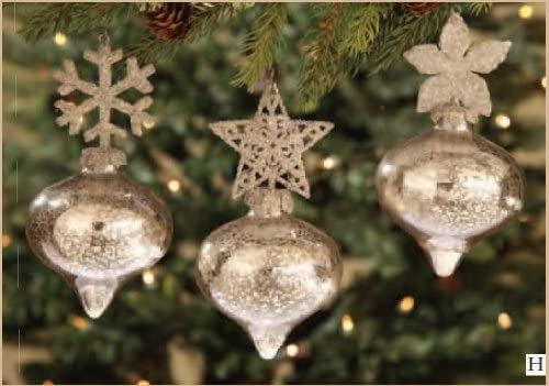 Amazon Com Bethany Lowe Designs Kismet Glass Christmas Ornament