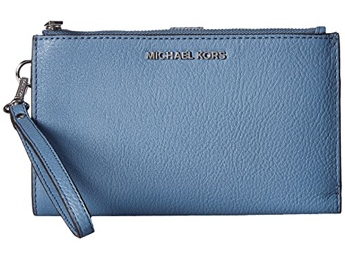 MICHAEL Michael Kors Adele Double Zip iPhone 7 Plus Wristlet