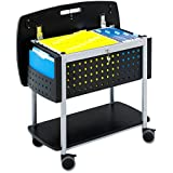 Safco Products Scoot Mobile File with Work Surface (5370BL)