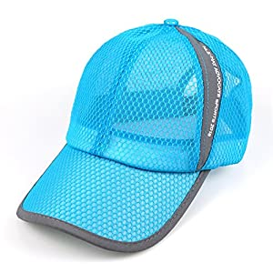 Quick Dry Sports Hat Lightweight Breathable Soft Outdoor Run Cap Men's Sun Caps for Tennis/Golf/Baseball/Fishing/Hiking