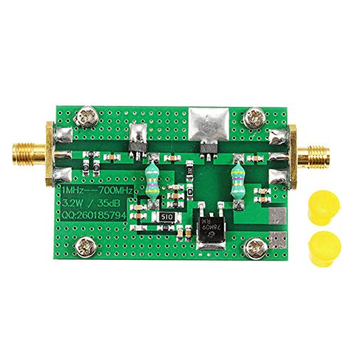 1MHz-700MHZ 3.2W HF VHF UHF Transmitter RF Power Amplifier For Ham Radio - Arduino Compatible SCM & DIY Kits Module Board - 1 x 1MHz-700MHZ 3.2W HF VHF UHF FM Transmitter RF Power Amplifier by Unknown
