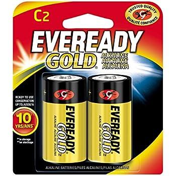 Amazon.com: Energizer C2 EVEREADY Alkaline Battery: Home