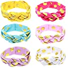 Mookiraer Baby Girl Newest Turban Headband Head Wrap Knotted Hair Band (PH446A)