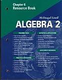 McDougal Littell Algebra 2: Resource Book: Chapter 6