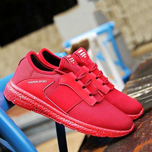 5 Piatte Coreana Scarpe dimensioni UK8 Scarpe Colore Scarpe EU42 Versione E Adolescente Filato Da Sportive Autunno 3 Casual Primavera 3 E Netto CN43 Corsa SUN nHa6xBqx