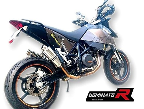 GP I Dominator Exhaust silenziatore scarico 690 SM SUPERMOTO DB KILLER