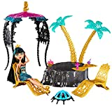 Monster High - 13 Wishes - Desert Fright Oasis Playset with Cleo De Nile Doll