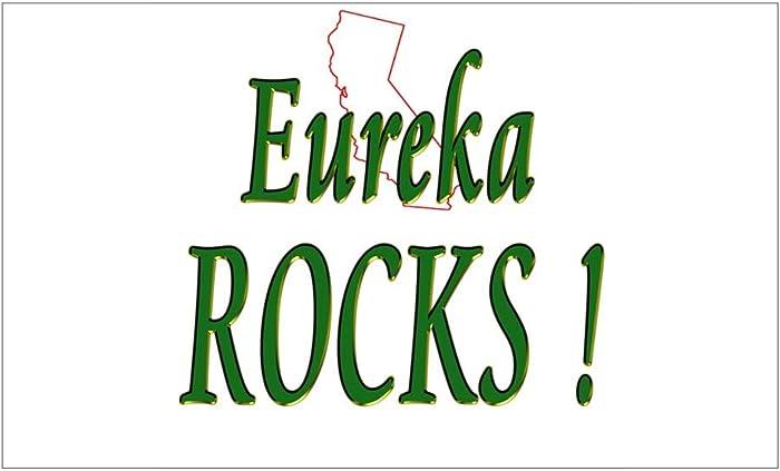 "CNW Studio Eureka Rocks ! Decal Vinyl Bumper Sticker 5"""
