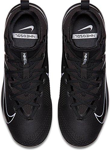 Chaussures De Base-ball De Métal Délite Ultra-mince De La Vapeur Lunaire De Nike Hommes Nous) Noir / Noir