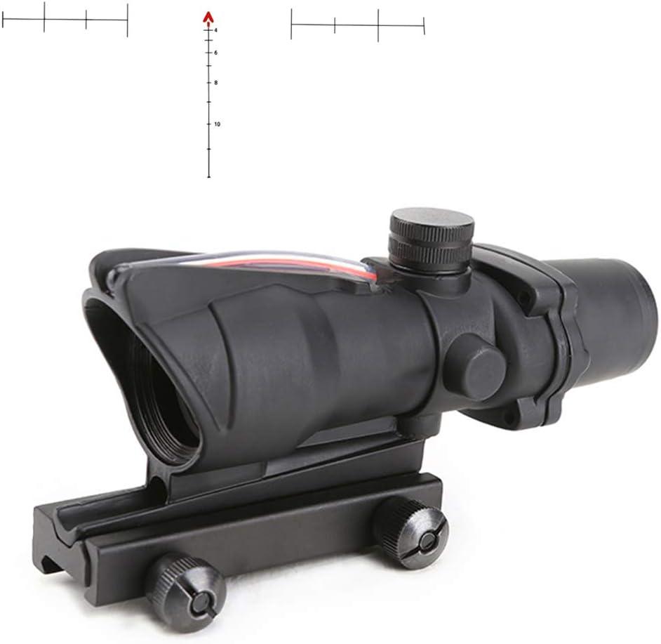 Amazon Com Riflescope De Caza Spina Optics 4 X 32 Rojo Verde Iluminado Fibra óptica Mira Chevron Retículo Táctico Para Rifle Calibre 223 308 Rojo Chevron Iluminado Sports Outdoors