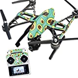 MightySkins Protective Vinyl Skin Decal for Yuneec Q500 & Q500+ Quadcopter Drone wrap cover sticker skins Seafoam Avocados