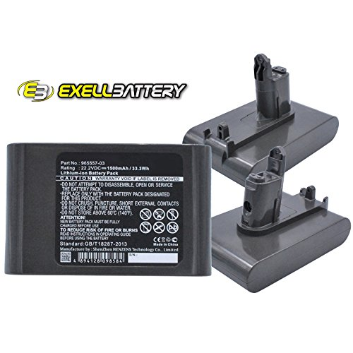 3x Li-Ion 22.2V Battery Replaces 202932-02 917083-01 965557-03 Type-B USA SHIP by Exell Battery