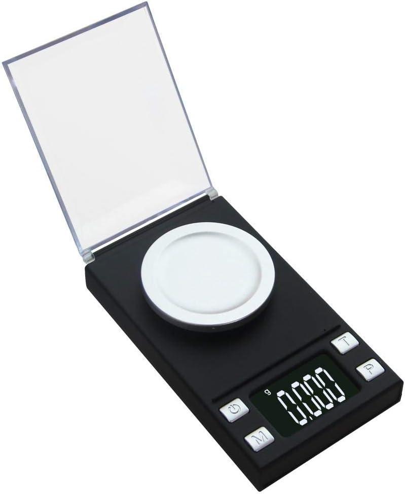 0.001g Mini bilancia da laboratorio digitale ad alta precisione Bilancia da pesistica Gioielli professionali Oro Elettronica Strumenti di pesatura portatili 100g0,001 100g0.001