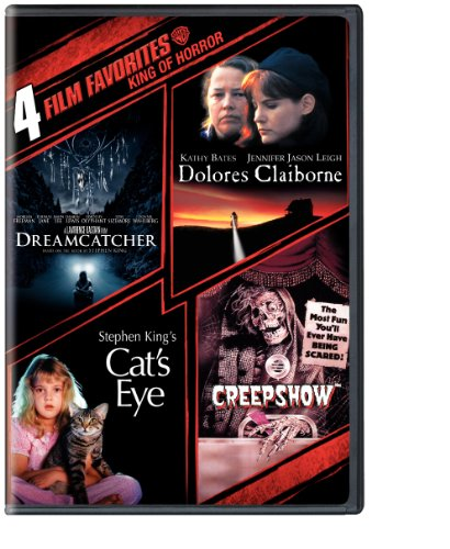 4 Film Favorites: Stephen King (Creepshow, Dolores Claiborne, Dreamcatcher, Stephen King's Cat's Eye) -