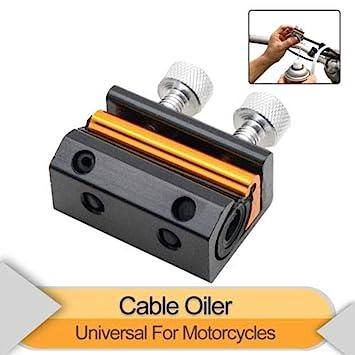 SUNWAN Lubricador de aceite de cable doble universal para ...