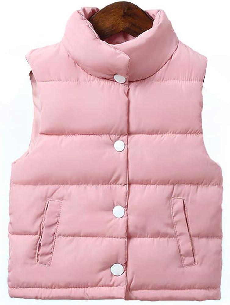 LOSORN ZPY Baby Boy Girl Puffer Warm Vest Kids Lightweight Padded Waistcoat Jacket