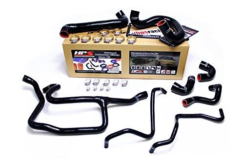 HPS 57-1427-BLK E30 Black Silicone Radiator Coolant Hose - Coolant E30