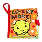 Jellycat Soft Books, I Love My Daddy