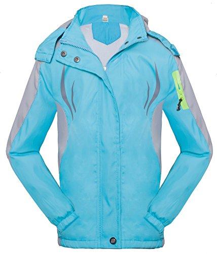 Roseate Athletic Outerwear Zip up Waterproof