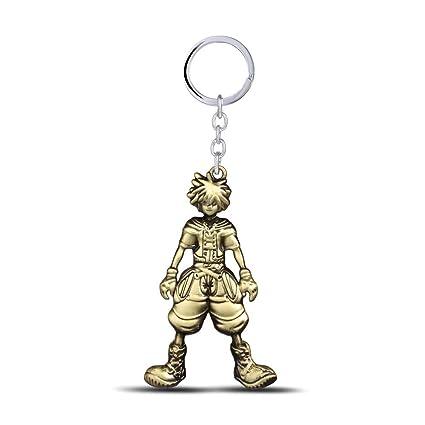 Amazon.com: Mct12 - Movie Kingdom Hearts Sora Keychain Metal ...