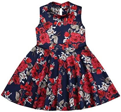 00b28db5b86 ... Sundress Family Matching Clothes. Mom&Me Bodycon Dress Franterd Mom   Baby  Parent-Child Slim A-Line Vintage Floral