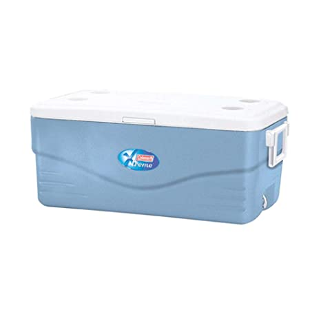 Coleman 100 Quart Xtreme Cooler (Blue) Camping & Hiking Coolers & Cool Bags at amazon