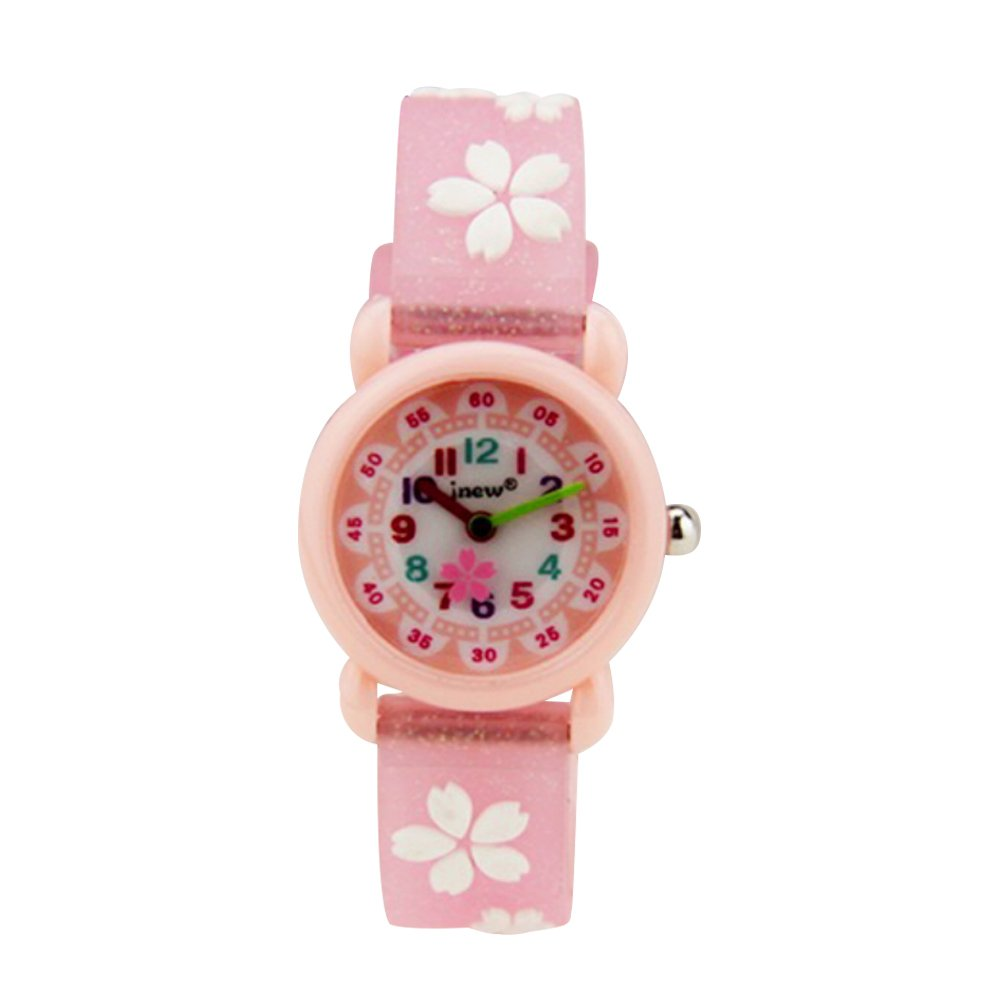 ZJQY Gift for 3-12 Year Old Girls Kid, Kids Wristwatch Watch Toy for 3-12 Year Old Girl Age 3-12 Gift for Children Birthday