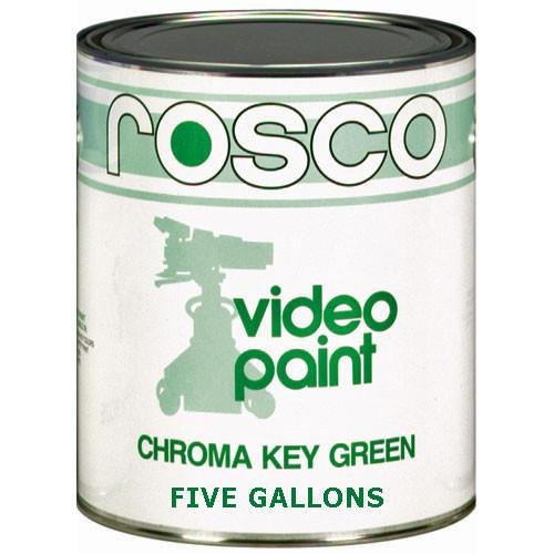 Rosco Chroma Key Matte Green Paint - 5 Gallon