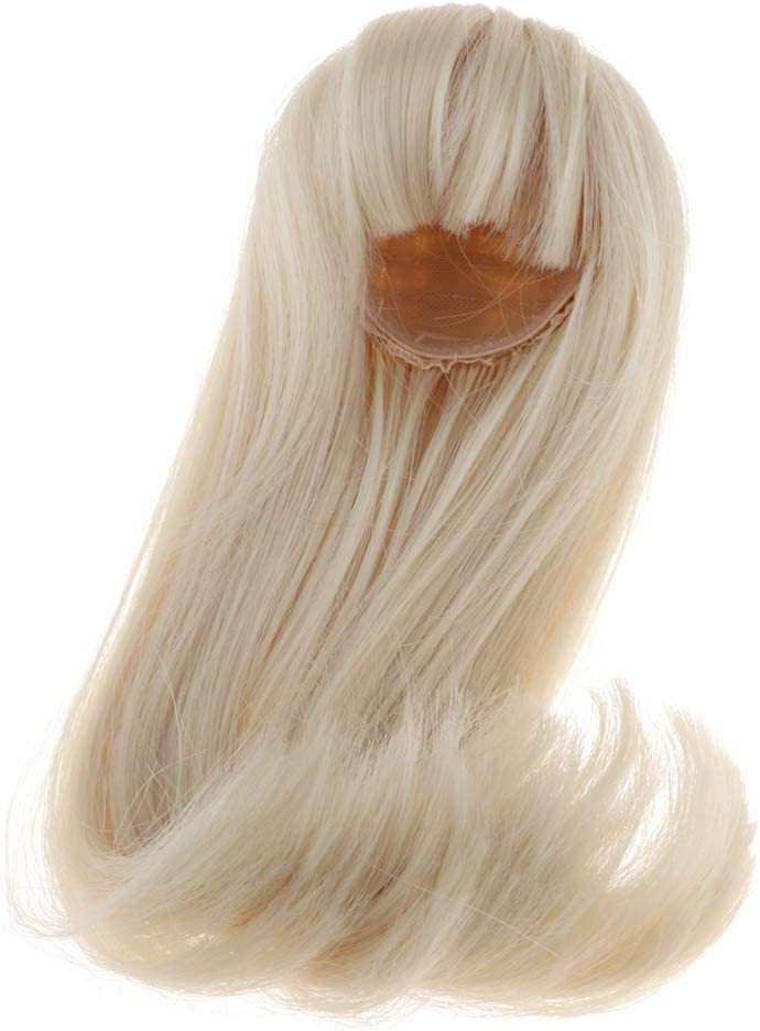 Sweet 1//4 Doll Long Wave Doll Wigs for BJD Xinyi Synthetic Mohair Doll