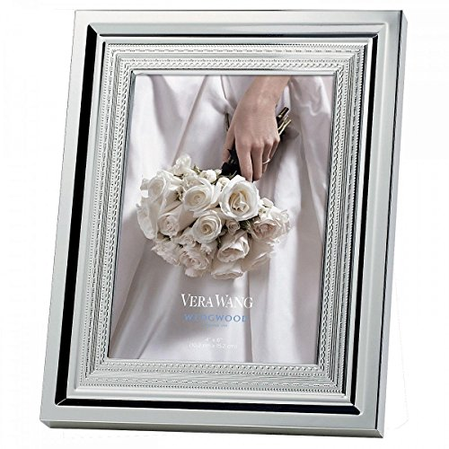 Vera Wang Silverplate With Love Photo Frame-Holds 4X6