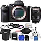 Sony a7S II - International Version (No Warranty) + Sony FE 24-240mm OSS Lens includes 32GB SD Memory Card + 3 Piece Filter Kit + Lens Pouch + 3 Piece Screen Protectors + Lens Cap Keeper & More!