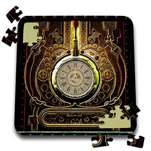 3dRose Heike Köhnen Design Steampunk – Amazing clockwork steampunk design – 10×10 Inch Puzzle (pzl_287322_2)