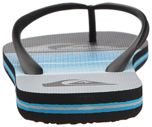Quiksilver Mens Molokai Highline Slab Sandal Black/Blue/Grey aXKjS4GsA