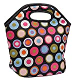 Marine Pearl Stain Free Insulated Waterproof Premium Polka Dot Lunch Bag