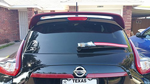 Saber Universal RED WiperTags Rear Wiper Cover (NON REFLECTIVE)