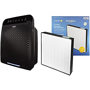 Whirlpool Whispure WPPRO2000 & Extra Genuine HEPA Replacement Filter Set, Air Purifier for Large Room - Doctors Choice Air Cleaner, Capturing Allergens ...