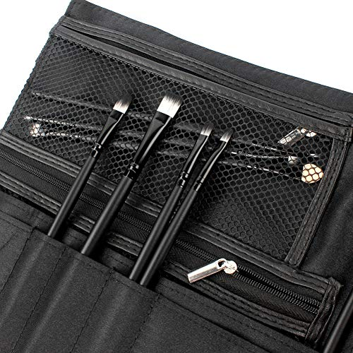 48ebabac2bab LALATECH Professional Cosmetics Artist Storage Zipper Apron Makeup Artist  Brush Waist Bag Fiber Material Large Capacity