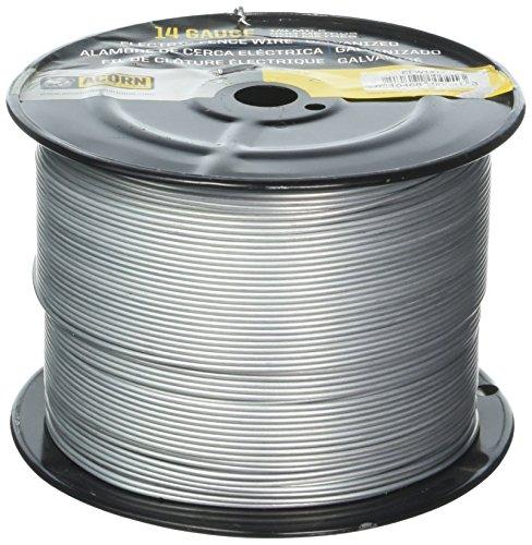 Acorn International EFW1414 1/4-Mile 14-Gauge Galvanized Fence Wire ()